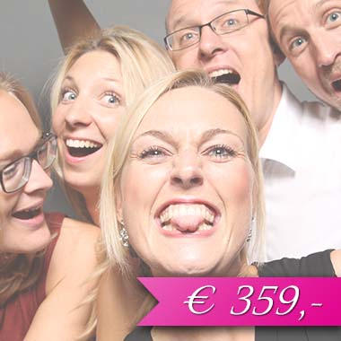 Photobooth für 359 Euro